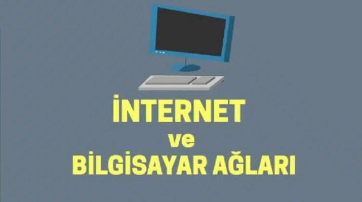 internet ve bilgisayar ağları