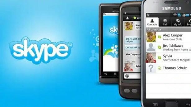 skype mobil grup konuşması
