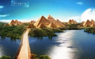 Piramit temalı duvar kağıdı