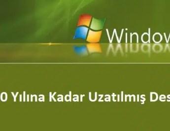 windows 7 destek