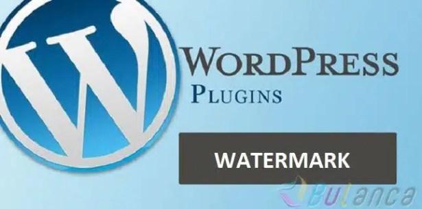 wordpress watermark