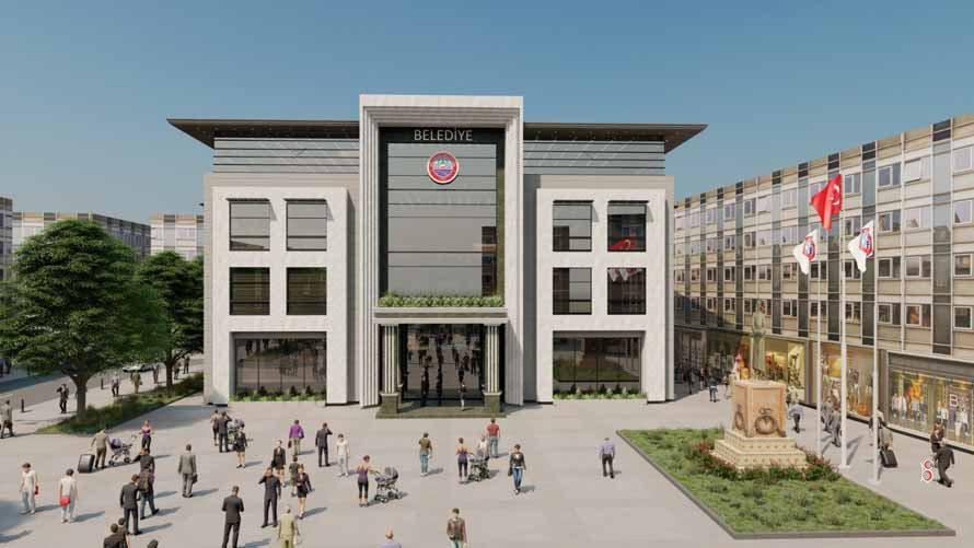 Bulancak Belediyesi Yeni Bina