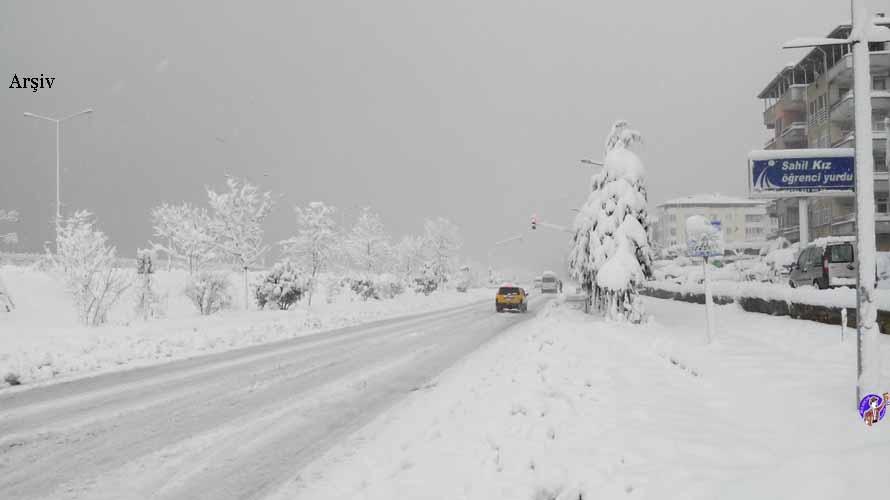 Bulancak'ta Kar Yağışı Başladı
