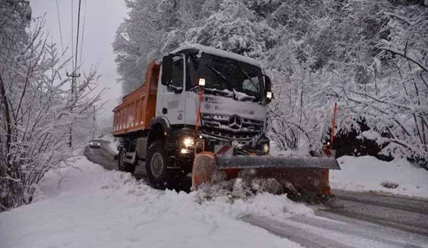 Giresun'da 268 Köy Yolu Kardan Kapalı