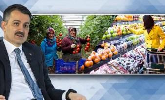 Pakdemirli, Gıda Stoklarımız Yeterli