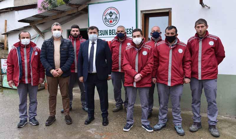 Giresun Belediyesi Çözüm Birimi Kurdu