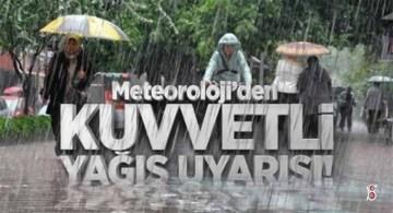 Doğu Karadeniz'de Şiddetli Yağış Bekleniyor!