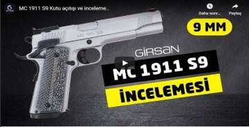 Girsan MC 1911 S9 Kutu açılışı ve inceleme..