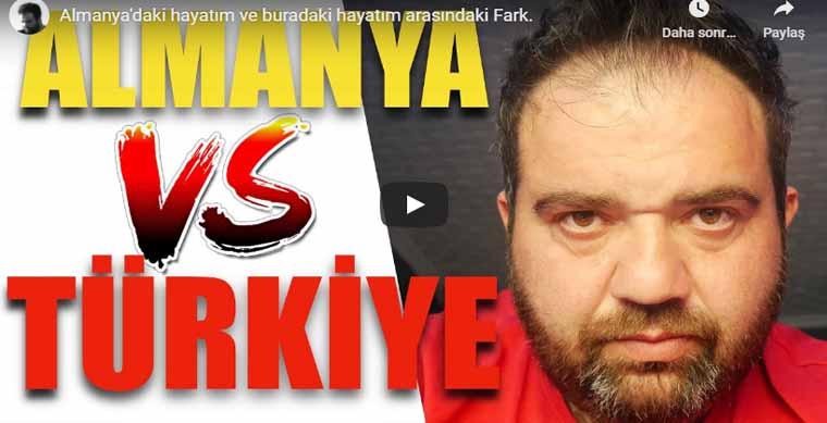 Almanya ile Türkiye Arasındaki Farklar