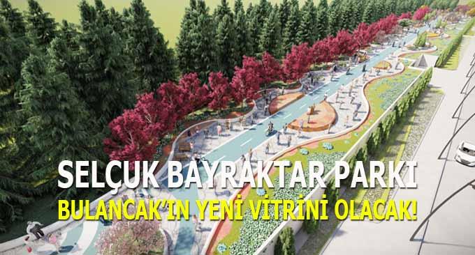 Selçuk Bayraktar Parkı Bulancak'ın yeni vitrini olacak!