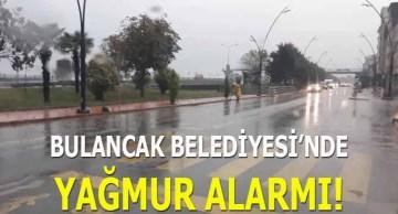 Bulancak Belediyesi'nde Yağmur Alarmı!