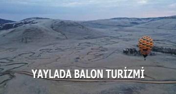 Yaylada Balon Turizmi