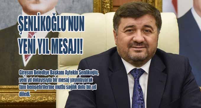 Şenlikoğlu'nun Yeni Yıl Mesajı!