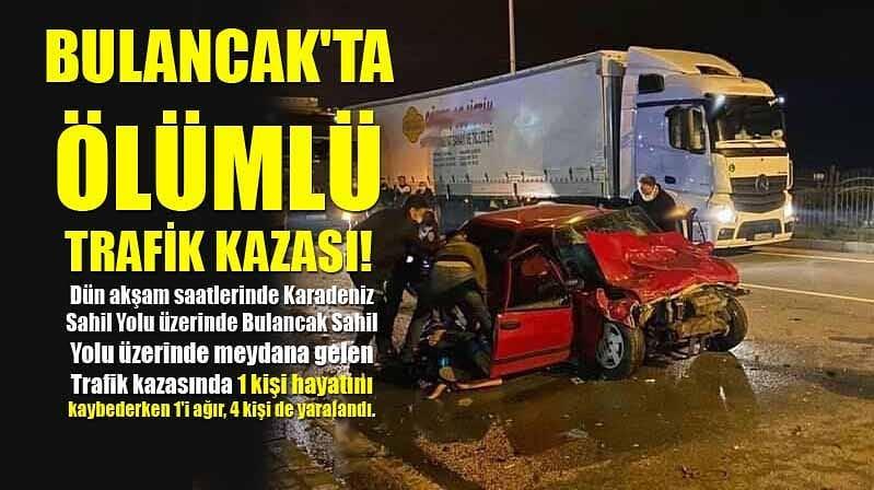 Bulancak'ta Ölümlü Trafik Kazası!