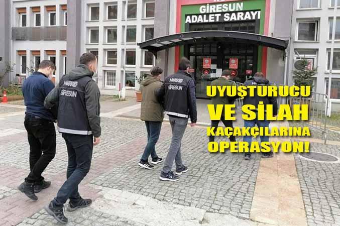 Uyuşturucu ve Silah Kaçakçılarına Operasyon!