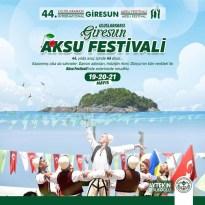 Giresun Aksu Festivali 44. Yılında Evlere Taşınacak