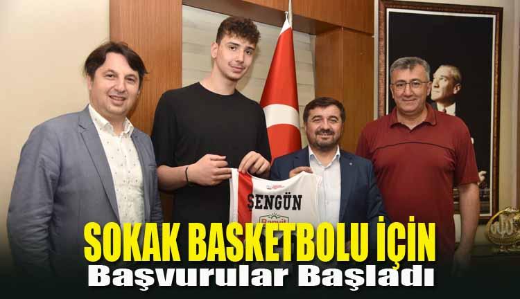 Sokak Basketbolu İçin Başvurular Başladı
