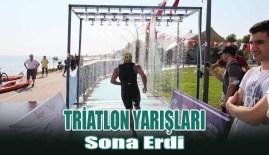 Triatlon Yarışları Sona Erdi