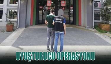 Giresun'da Uyuşturucu Operasyonu