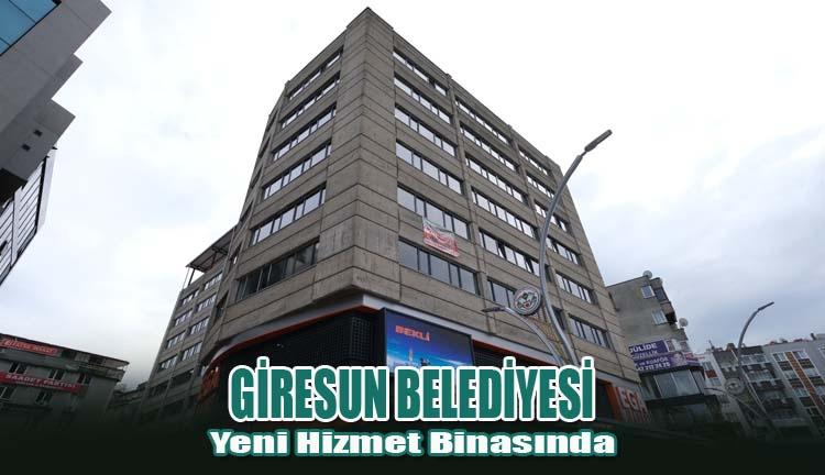 Giresun Belediyesi Yeni Hizmet Binasında