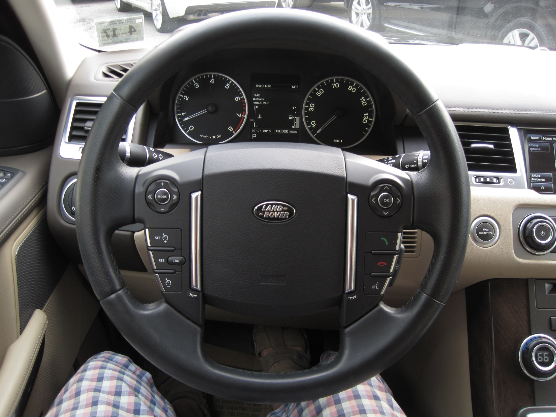2012 Land Rover Range Rover Sport HSE LUX SANTORINI BLACK LUXURY