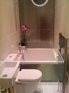 Bathroom design - InvestConsult on Small Space Small Bathroom Ideas With Tub And Shower id=70770