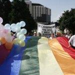 Gay parade Sofia June 2008