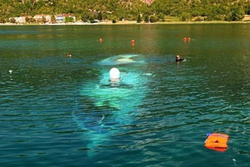 """15 български туристи загинаха между местностите Лагадин и Елешец в източния край на Охридското езеро при инцидент с 87-годишния кораб """"Илинден"""", който е извършвал круизно туристическо плаване. Всичко се е случило само за броени минути, според очевидци, предаде Македонската Информационна Агенция (МИА). Корабът е потънал на 8-9 метра дълбочина на около 200 метра от плажа """"Елешец"""". От брега очевидци са чули само крясъците на жените, след което всичко свършило. Това е най-голямята трагедия в Охридското езеро за всички времена.  ФОТО:МИА"""