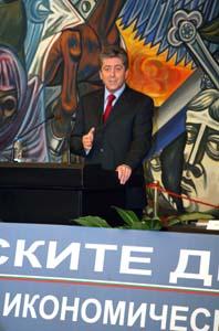 18 септември 2009 г. Представяне на четвъртия Годишен икономически доклад за Президента на Републиката. Снимка: Н. Николов