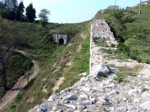 """Много добре е запазена една от вратите на крепостта, наречена Шишманова порта. В пределите на България Никопол бил важна крепост, последна твърдина на Търновското царство, отбранявано от цар Иван Шишман. Заради това турците го нарекли Кючук Стамбул (Малък Цариград). Една османска миниатюра от XVI век показва как е изглеждал внушителният град Никопол през съдбоносната 1396 г. Публикувана е в книгата на Михаел Вайтман  """"Дунав - европейската река и нейната 3000 годишна история"""