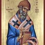 Св. Спиридон бил един от великите светители и чудотворци на IV век.