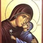 Икона на св. Анна - майка на Пресвета Богородица (кликнете за голям рамер - по-долу четете за празника)