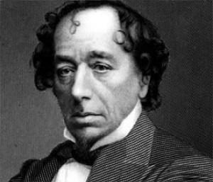 Бенджамин Дизраели лорд Бийкънсфийлд (Benjamin Disraeli, 1st Earl of Beaconsfield) е роден на 21 декември 1804 и умира на 19 април 1881г. в Лондон. За да се сдобиеш с власт, ти е необходимо голямо състояние — до това заключение Дизраели достига още в юношеска възраст и опитвайки се да се сдобие с пари, играе на борсата и спекулира с акции на латиноамерикански минни предприятия. Спекулациите му завършват с крах и Бенджамин се оказва потънал до уши в дългове, които му тежат до края на живота. С неуспех завършва и авантюристичният му опит да създаде крупен общонационален английски вестник.
