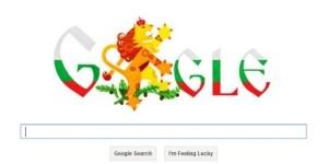На 3 март 2013г. логото на търсачката в България отбелязва 135-годишнината от Освобождението от османско робство.