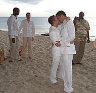 """Еднополовите бракове (наричани още """"гей брак"""") стават особено популярни в края на 20 и началото на 21 век, когато се оформя една нарастваща тенденция за признаване на правото на граждански брак и на еднополовите двойки. Това законово признаване им предоставя широк спектър от права, като тези на съвместно социално осигуряване, наследяване, данъчно равенство и пр., недостъпни за небрачните двойки. Корените на любовни съюзи между еднополови, най-често с голяма възрастова разлика, са засвидетелствани още от древността в Източна Азия, особено в Китай. Добре известно е положителното отношение към хомосексуалните контакти в Древна Гърция и Древен Рим. В Северна Америка, преди заселването на европейците, са били широко разпространени еднополови съюзи, свързани с идеята за двойствения дух. Някои момчета от ранна възраст имитирали принадлежност към женския пол, с всички негови проявления и отговорности. Смятало се, че те имат двойствен дух, и се очаквало да встъпват във връзки с мъже от племето, които се отнасяли към тях, като към свои съпруги. В Африка, сред племената азанде от Конго, и до днес е прието мъжете да се обвързват официално с младежи, за които следва да платят брачен откуп на бащите им. ТЕКСТ И ФОТО: Уикипедия"""