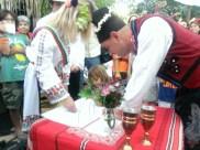 25 май 2014 г. Официалната церемония по сключването на граждански брак на Росен Начев и Веселка Василева. БАЛКАН ФЕСТ 2014, Сан Диего, Калифорния