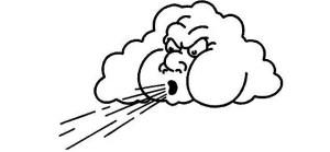 """30-31 Декември 2014 г. """"Вятърът на промяната"""" се движи със скорости около 100 км/ч от Запад на Изток, и от Север на Юг."""