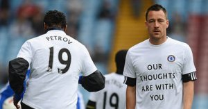 Chelsea captain John Terry plays in Stiliyan Petrov Charity Match