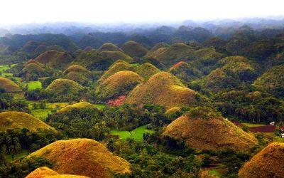 """Шоколодовата """"бонбониера"""" на Филипините"""