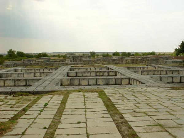 Основите на Крумовия дворец