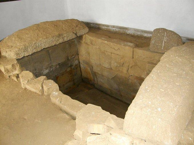 Гробницата от могила Светицата