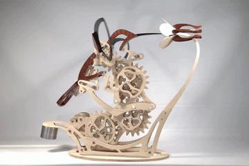 Скулптурите на Дерек Хъгър – сливане на естественото движение с инженерна мисъл