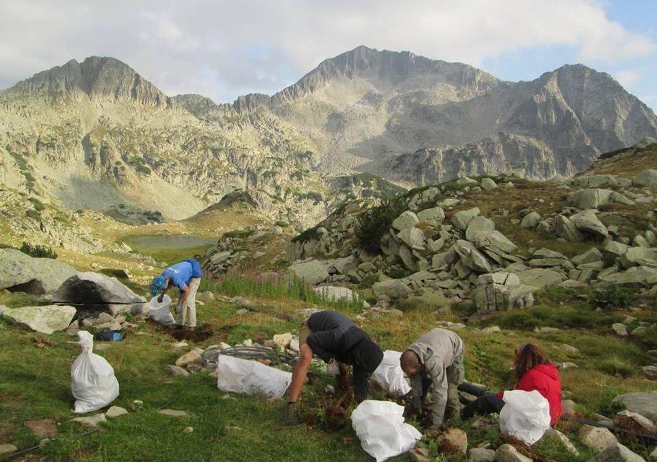 """Почистване на Национален парк """"Пирин"""" – 20 години """"Високопланинско Чистене"""""""