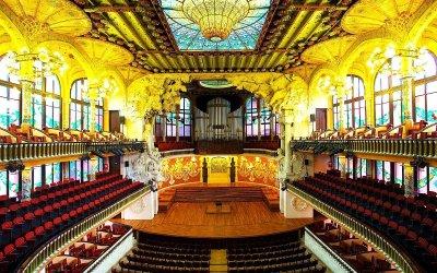 Палатът на музиката в Барселона