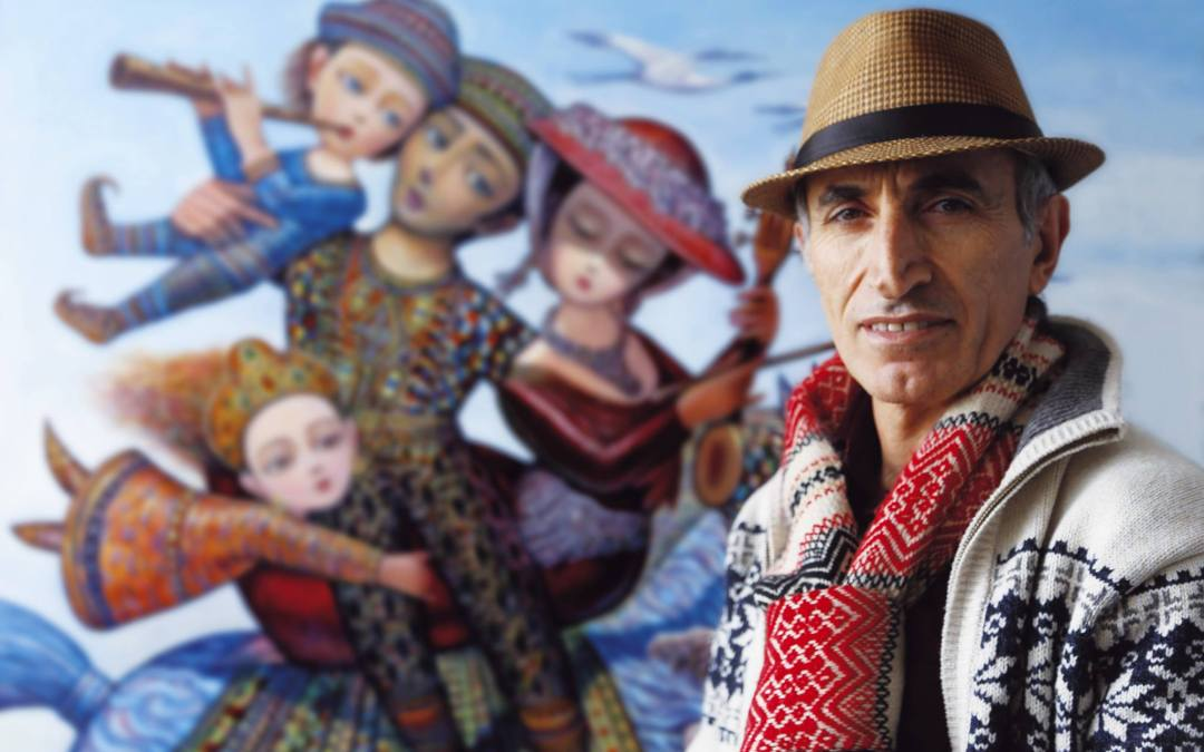 Картините приказки на Севад Григорян