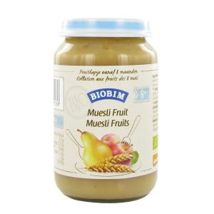 Joannus Biobim Muesli-Fruits 200g (>8 mois) sans gluten -sans lactose