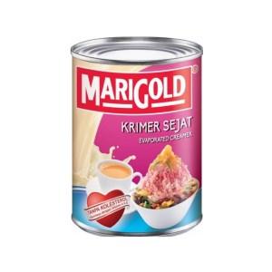 Marigold Krimer Sejat / Evaporated Creamer (Pink) - 390 gm x 48 tin x 1 ctn