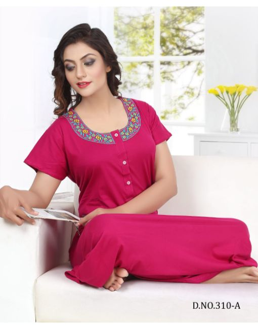 Rs 450 Pc Trendy 310 Wholesale Night Gown Catalog 06 pcs