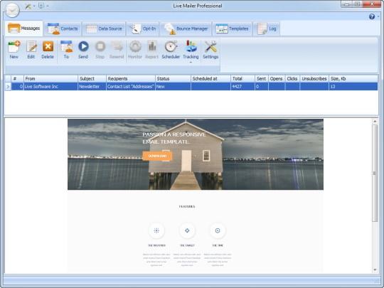 Smtp server bulk email