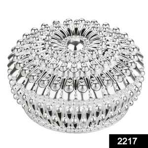 2217 Decorative Bowl with Lid for Candy Box, Dry Fruit Box - Bulkysellers.com